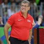 Olympic women's basketball coach Geno Auriemma wins and is expected to win