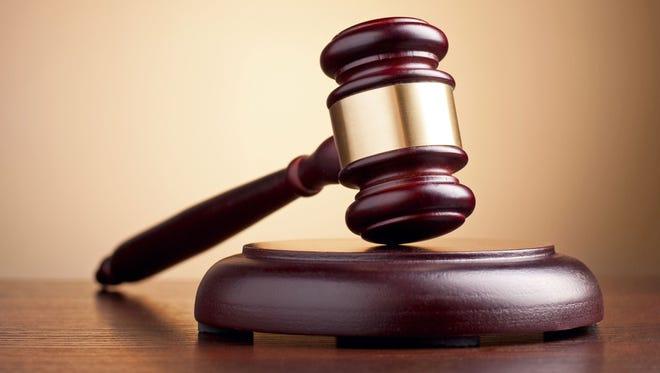 .Judge's gavel.