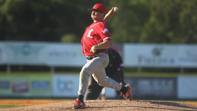 Leon junior Tyler Borges threw a five-inning perfect game with 12 strikeouts in a 14-0 win over Godby on Feb. 23, 2018.