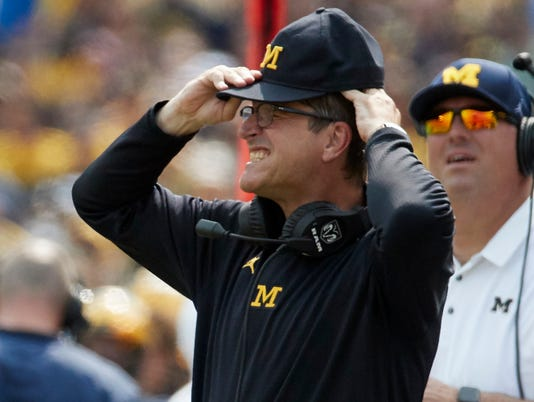 Jim Harbaugh, wolverines