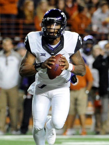 Quarterback Trevone Boykin and the TCU Horned Frogs