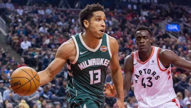 Bucks point guard Malcolm Brogdon has been sidelined since early February but  is aiming for a return in early April. There's a chance he could be back for Sunday's game in Denver.