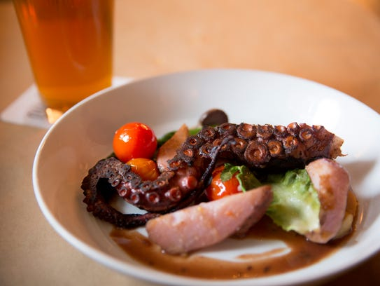 Octopus made by Anchor chef Steven Shockley. Anchor,