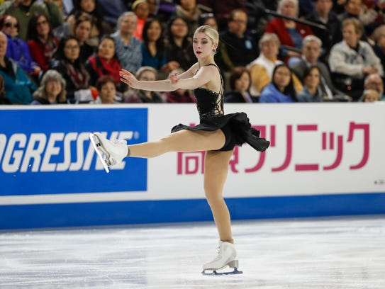 Gracie Gold has won two U.S. national figure skating