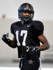 Vanderbilt cornerback Joejuan Williams, a former Father
