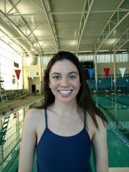 Coronado swimmer Rose Barakat.