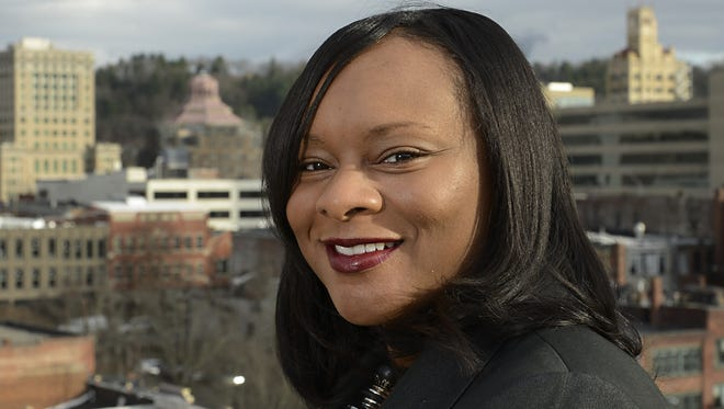 Former Asheville Mayor Terry Bellamy has lost more than 60 pounds since October 2014.