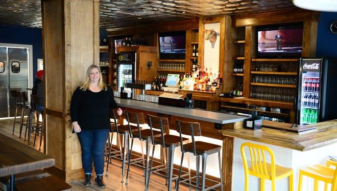 Rebecca Fluharty, interior designer has been lead designer on multiple local restaurants throughout the shore.  Wednesday, Jan. 4, 2017.