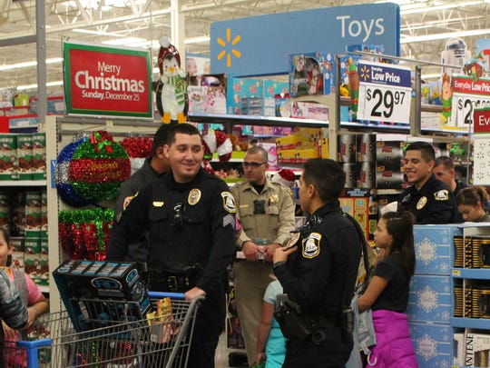 Deming Police Department officers were kept busy escorting
