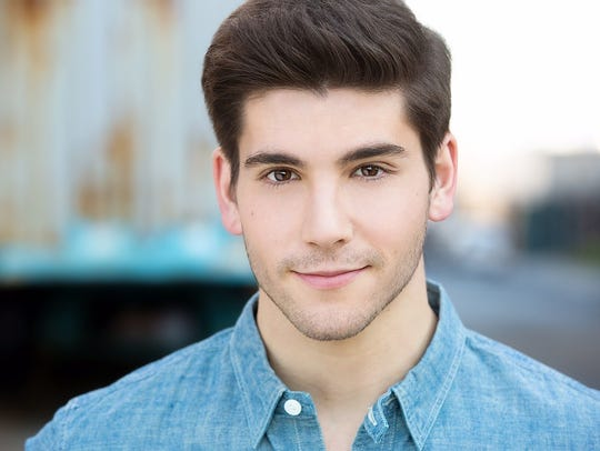 """Adam Kaplan, currently starring in """"A Bronx Tale: The"""
