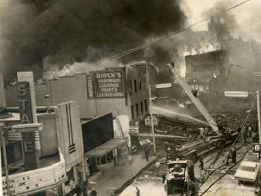 1968 explosion Richmond