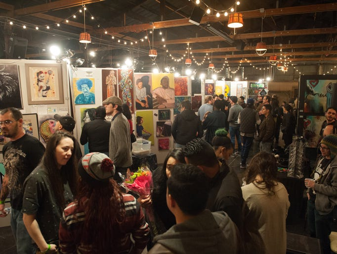 Pancakes and booze art show in phoenix for Craft fairs in phoenix az