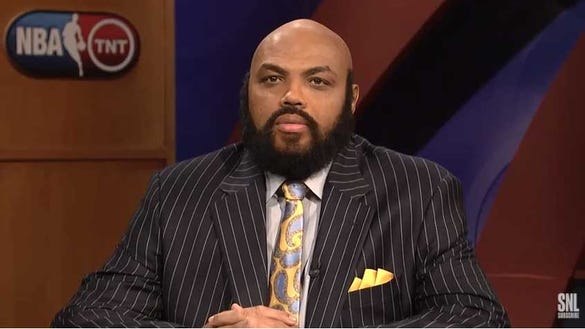 Re-live Charles Barkley's hilarious 2012 impersonation of Shaq on 'Saturday Night Live'