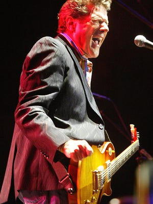 Glenn Frey sings a tune during a show at the Civic Center in Tallahassee.