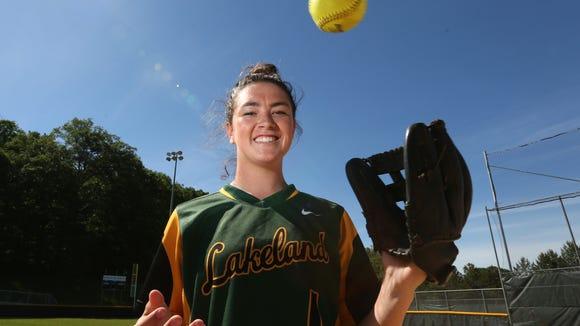 Lakeland pitcher Colleen Walsh, Westchester/Putnam