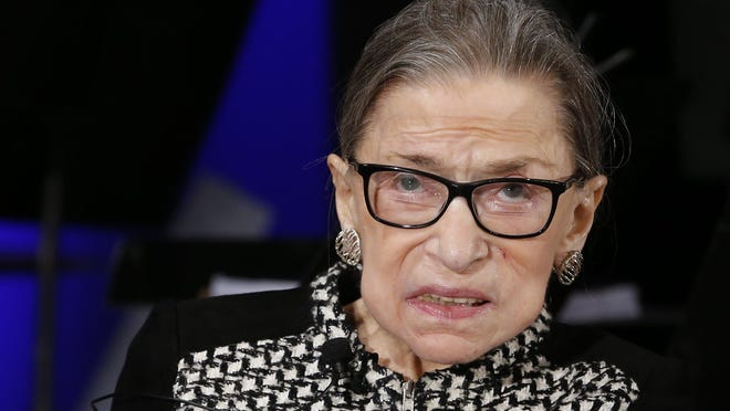 At 87, Ruth Bader Ginsburg is the oldest justice on the U.S. Supreme Court.