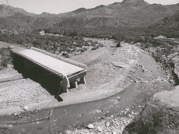 Storm Damage In Metro Phoenix From The 1960s Early 70s