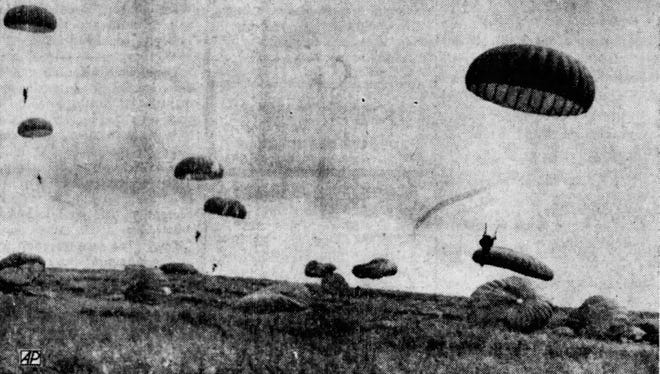Operation Dakota All American 1 brought 310 paratroopers to Sioux Falls in 1960.