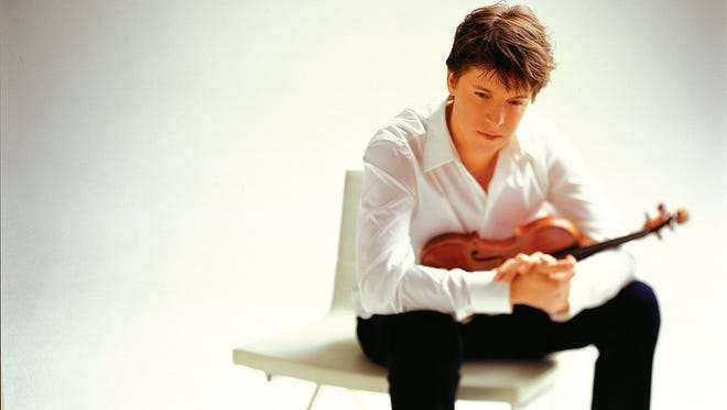 Violin virtuoso Joshua Bell takes the stage at Kohler Memorial Theatre on November 4 with pianist Alessio Bax to open  the 2016-17 Distinguished Guest Series.