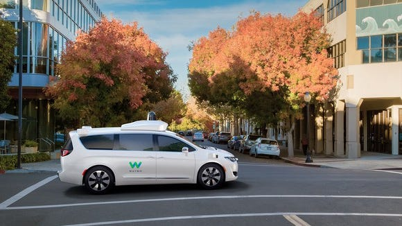 Google's Waymo is the widely acknowledged leader in self-driving technology.