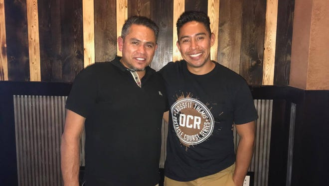 Javier Patino, left, and Jovani Gonzalez will open Patron restaurant in Weston in November.