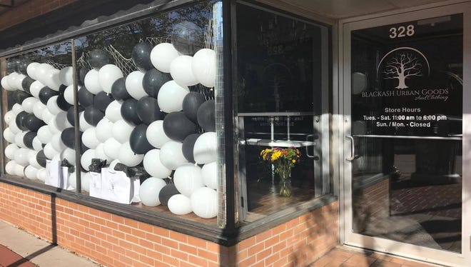 Blackash Urban Goods and Clothing in downtown Wausau