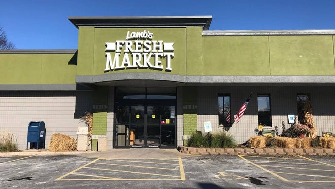 Lamb's Fresh Market, pictured here in November 2017, now offers pick up services for busy customers.