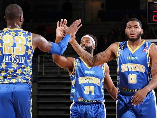 NBA D-LEAGUE BASKETBALL 2016 - MAR 04 - Iowa Energy defeats Delaware 87ers 114-106