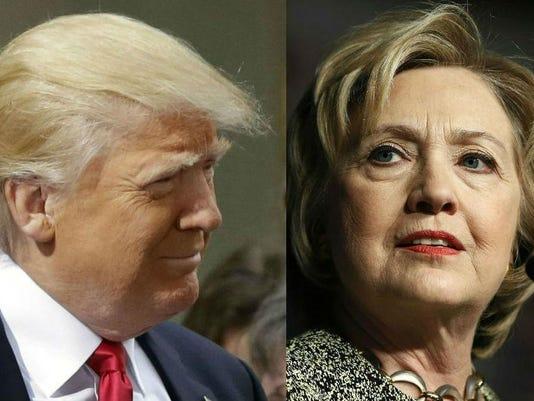 Edited Trump Clinton 2016