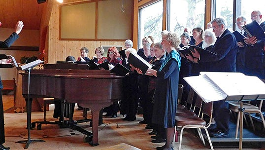 """ENMU-Ruidoso Community Choir presents """"The Themes of Christmas,"""" Sunday, December 11 at 3 p.m. at the First Christian Church, 1211 Hull Rd. Tickets are $5 and can be purchased in advance at ENMU-Ruidoso campus, 709 Mechem Drive or at the door."""