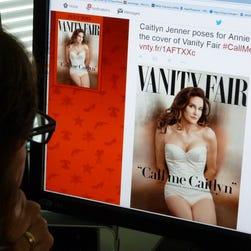 Caitlyn Jenner, formerly Bruce, poses for 'Vanity Fair'