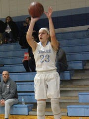 St. Thomas More Brianna Flayter is leads the team in scoring (15.5 ppg) and assists (3 apg).