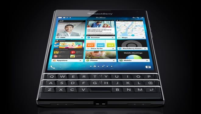 BlackBerry Passport looks like an actual passport.