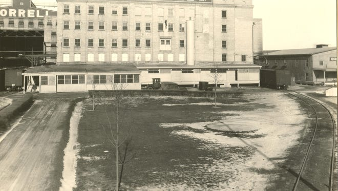 The first building at the John Morrell & Co. plant in Sioux Falls opened in 1909.