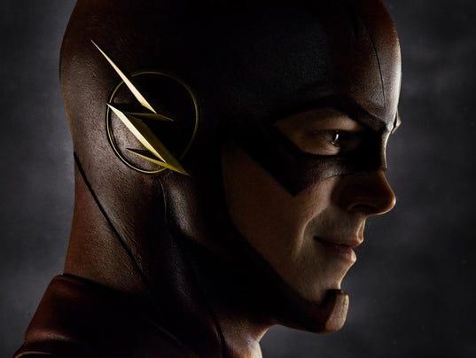 The Flash helmet