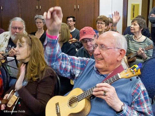 Ben Hassenger will present a Uke workshop as part of the Mid-Winter Singing and Folk Festival.