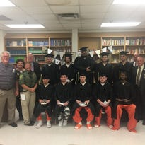 Robertson inmates earn GEDs, honored with ceremony