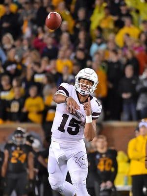 Mississippi State Dak Prescott compares favorable to some SEC greats.