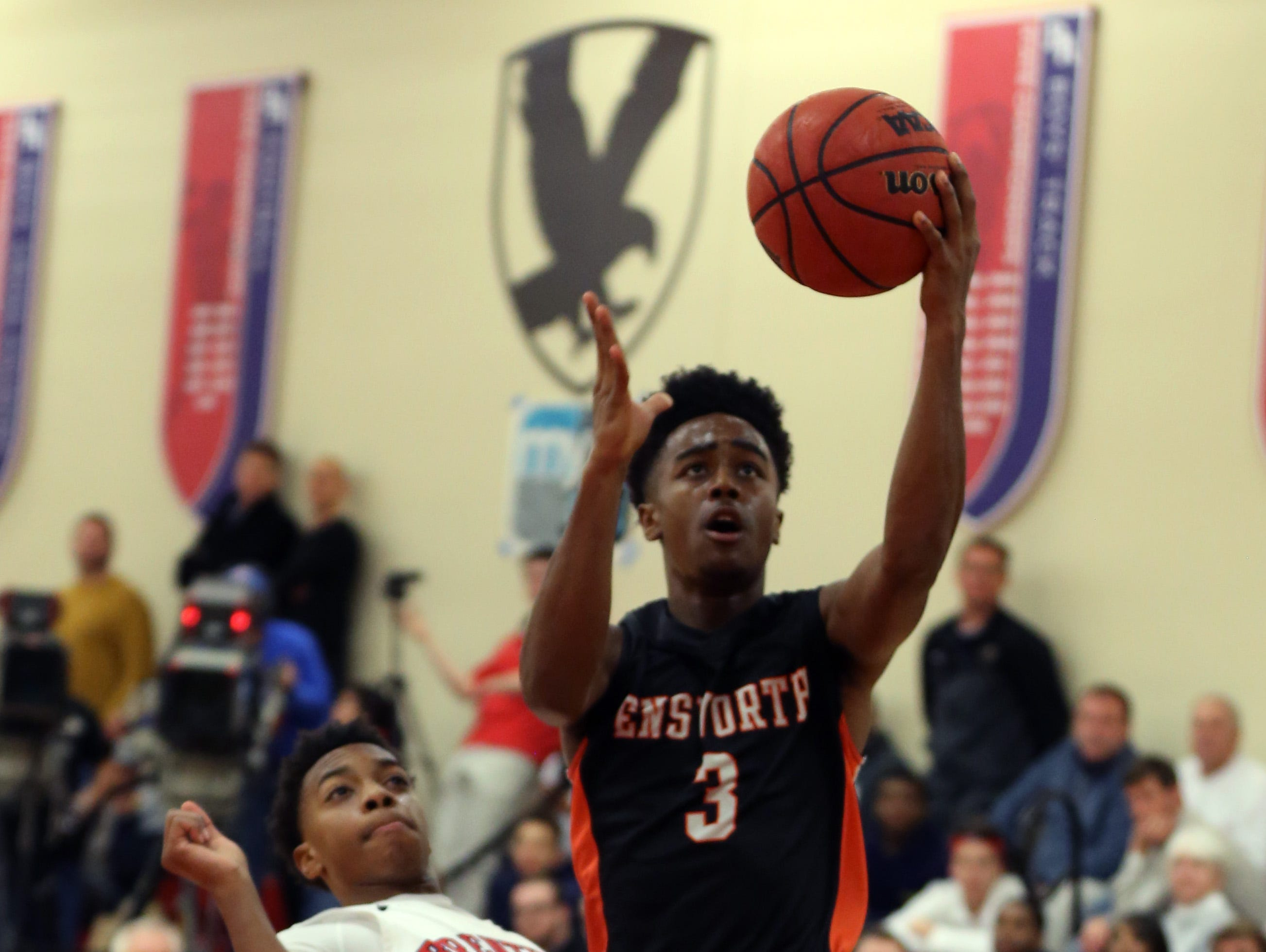 Ensworth and Tennessee signee Jordan Bone (3) are No. 7 in this week's Midstate Top 10.