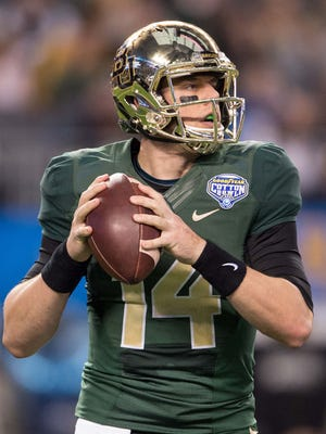 Bryce Petty put up prolific numbers in his two years as the Baylor starter