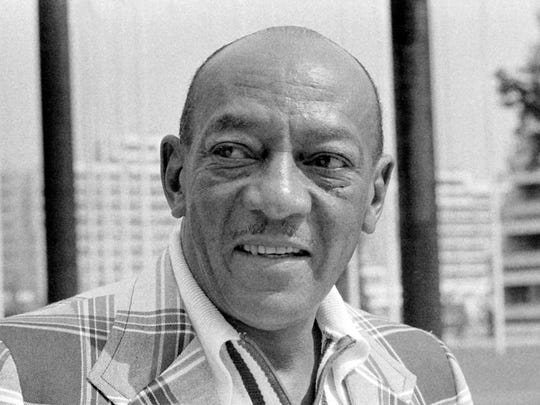 American track and field athlete Jesse Owens at the