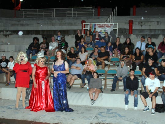Deming Pride Festival performers made a special shout-out,
