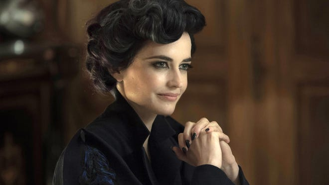 """Eva Green portrays Miss Peregrine in a scene from """"Miss Peregrine's Home for Peculiar Children."""""""