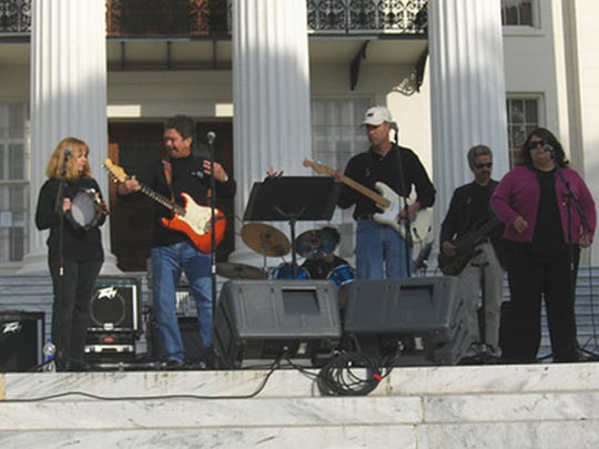 The Shouting Stones will perform Sunday at The Sanctuary,