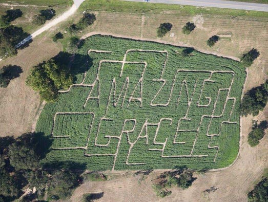 Amazing Grace Crop Maze in Florida not only has an