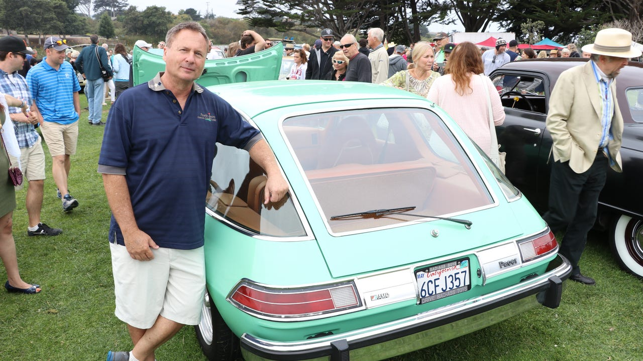 USA TODAY's Chris Woodyard talks to Chris Denove about his classic and meticulously restored 1975 AMC Pacer.