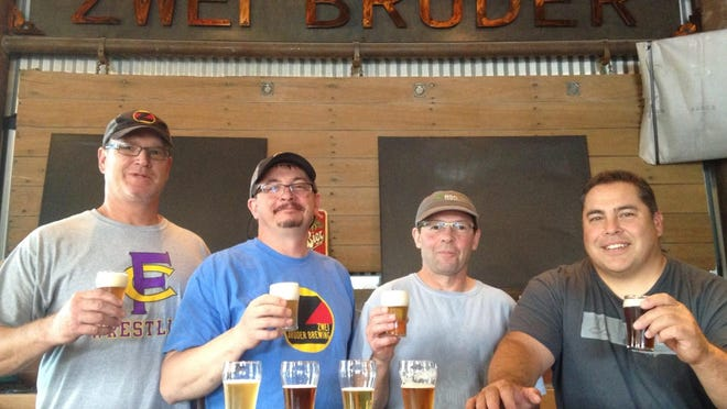 Zwei Brewing rated as excellent in the latest restaurant inspctions.