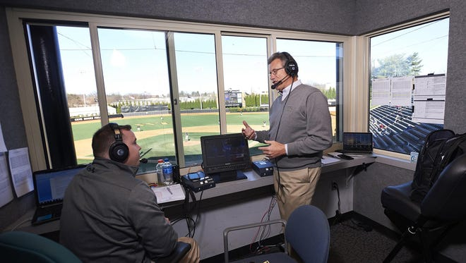 Four years sober, former Tigers announcer Lary Sorensen now broadcasts games for Wake Forest University.
