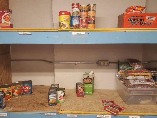 SOS food pantry