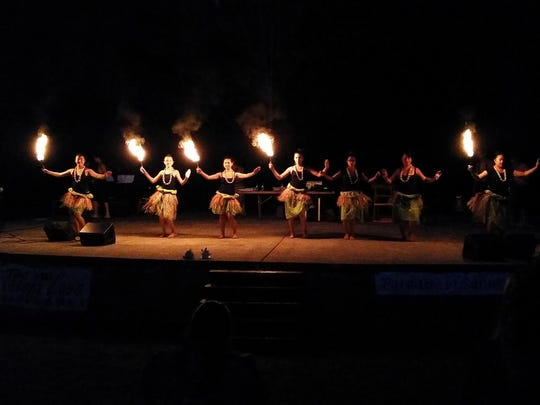 Paradise of Samoa will feature its annual luau with dancefrom Hawaii, Samoa, Tahiti and New Zealand, live music, an island feast and fire show 4:30 to 8 p.m. Sept. 2 at Keizer Rapids Park's Rotary Amphitheater. $20 or $15 ages 6 to 12 and seniors.